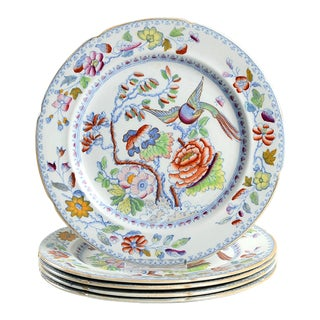 Mason's Luncheon Plate - Set of 5 For Sale
