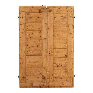 Mid 19th Century, Antique Pine Barn Sliding Doors - a Pair For Sale