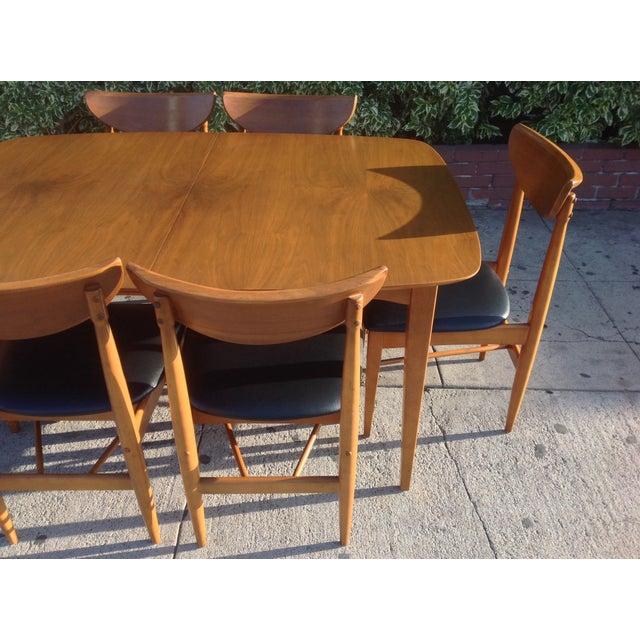 1960's Walnut Dining Set, B.P. Furniture - Image 6 of 7