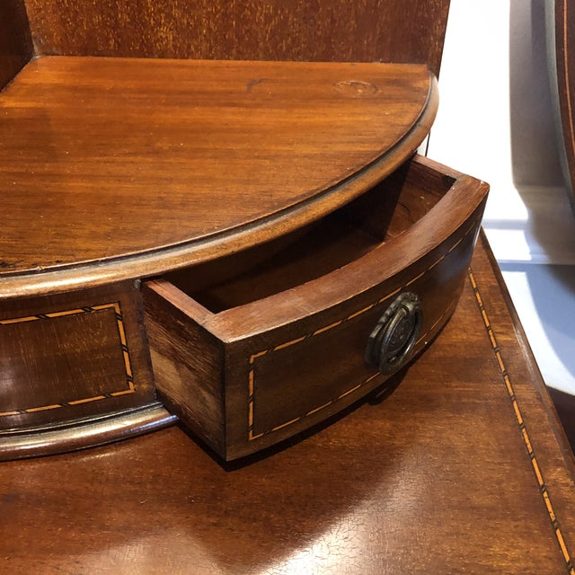 Traditional Antique Edwardian Inlay Vanity For Sale - Image 3 of 13