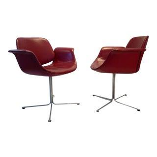 """Flamingo"" Chair by Erik Jorgensen - A Pair"