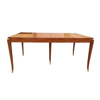 1950s Mid Century Modern Albano Furniture Co. Dining Table For Sale