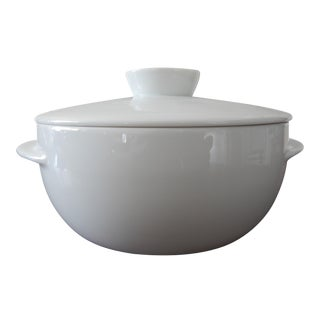 "Contemporary Rosenthal Porcelain of Germany - Studio Line ""Yono"" Covered Serving Dish For Sale"