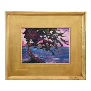 Impressionist Seascape Landscape Painting by Juan Pepe Guzman For Sale