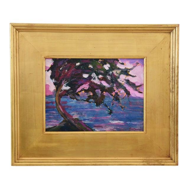 Impressionist Seascape Landscape Painting by Juan Pepe Guzman For Sale