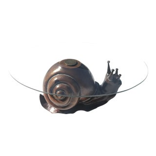 Vintage Federico Armijo Snail Coffee Table