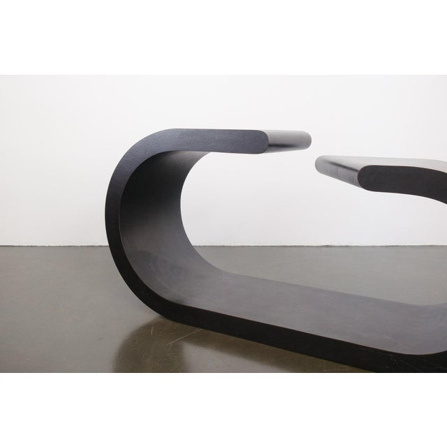 Contemporary Late 20th Century Vintage Springer Style Console Table For Sale - Image 3 of 7