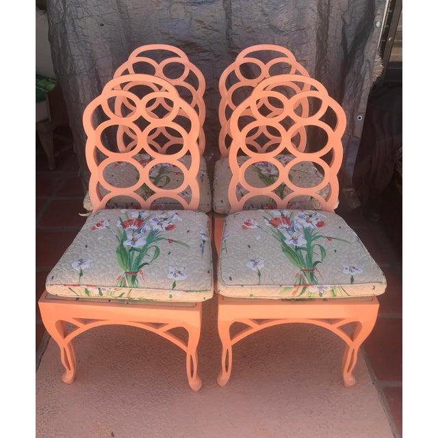 Frances Elkins Loop Chair- Set of 4 For Sale - Image 13 of 13