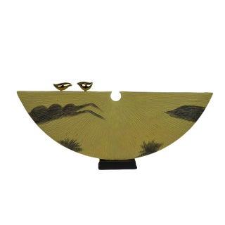 Modern 2 Birds Decorative Object For Sale