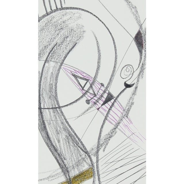 20th Century Sketch by Michael di Cosola - Image 2 of 2