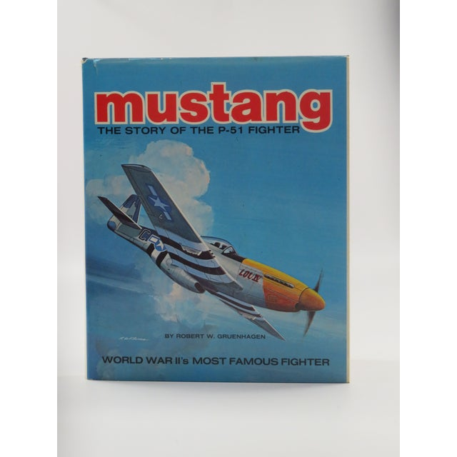 Vintage 'Mustang, Story of the P-51 Fighter' Book - Image 2 of 6