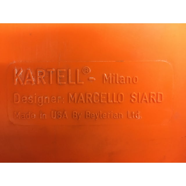 1970s Vintage Wall-Mounted Plastic Shelves by Marcello Siard for Kartell - a Pair For Sale In New York - Image 6 of 13