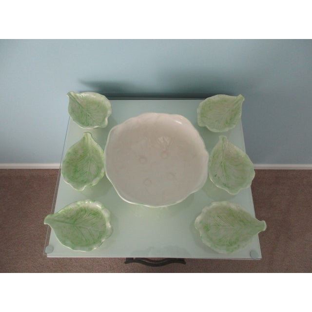 1970s Cabbage Ware - Set of 7 For Sale - Image 9 of 12