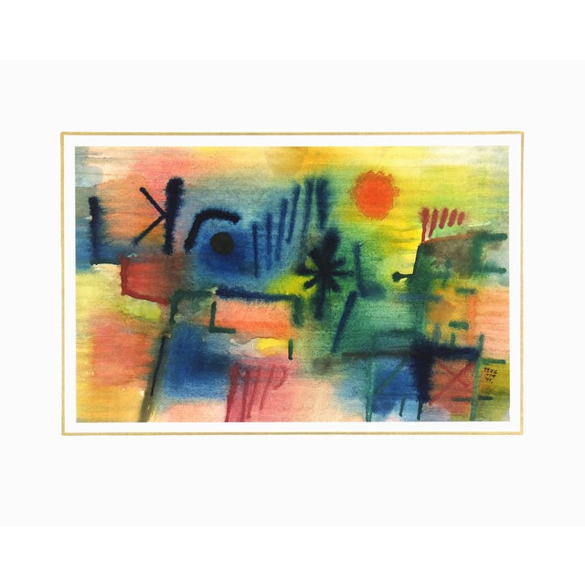 Vintage Abstract Painting, 1976 - Image 4 of 4