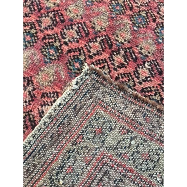 "Antique Hamadan Rug - 3'4"" X 6'6"" - Image 7 of 9"