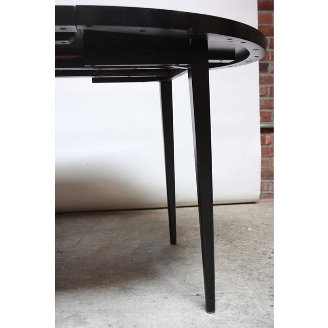Paul McCobb Planner Group Round Extension Dining Table - Image 8 of 10