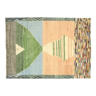 Contemporary Moroccan Rug Inspired by Ettore Sottsass - 10'00 X 13'10 For Sale