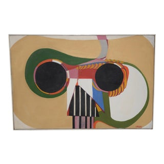Mid Century Abstract by Lois Larsen C.1950s For Sale