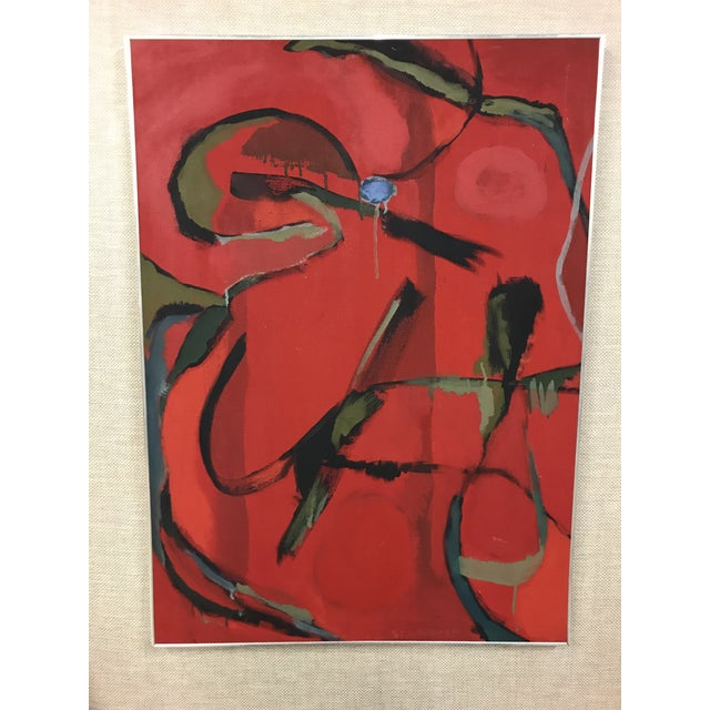Paint Abstract Oil on Canvas Painting For Sale - Image 7 of 7