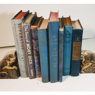 Vintage Mid Century Blue Books- Set of 8 Preview