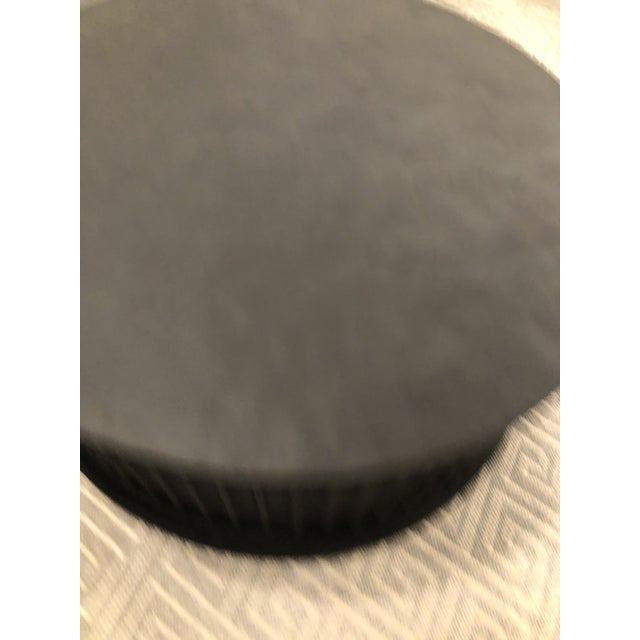 Noir Noir Round Rustic Coffee Table For Sale - Image 4 of 7