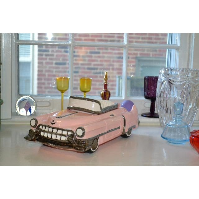 Pink Pink Cadillac Cookie Jar For Sale - Image 8 of 10