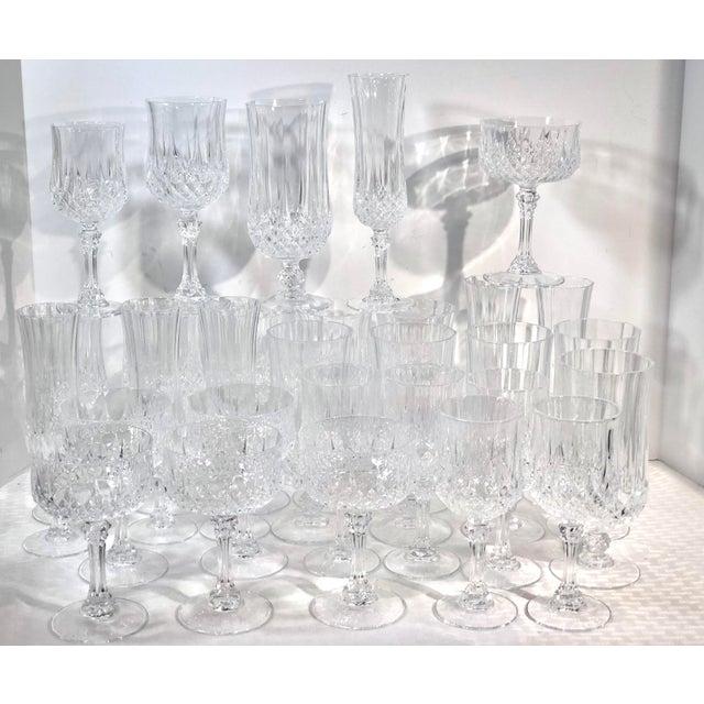 Cristal d'Arques Durand Longchamp 5 Pc. Place Setting - 6 Sets / 30 Total Pieces For Sale - Image 10 of 10