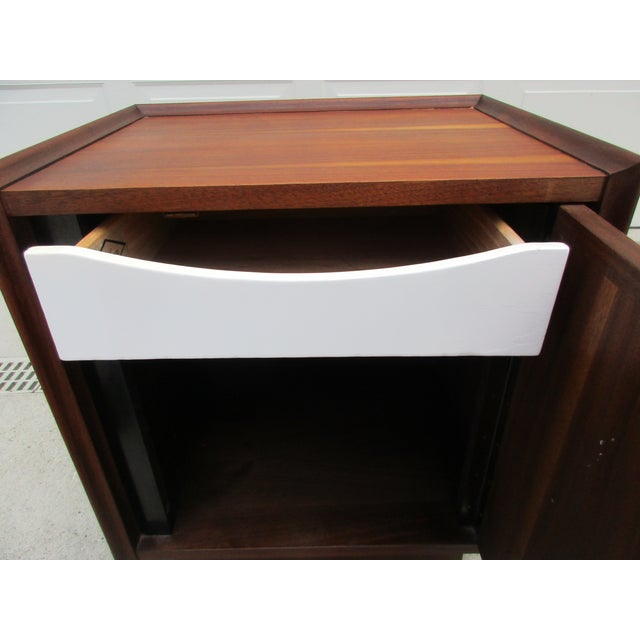 Wood Dillingham Esprit Nightstand For Sale - Image 7 of 12