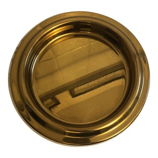 Baldwin Vintage Mid-Century Style Brass Plate For Sale