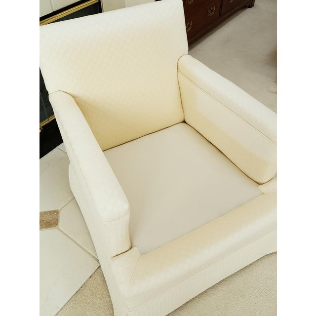 Mid-Century Modern Tailored Cushion Arm Chair - Image 5 of 9