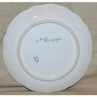 Haviland France Floral Hand-Painted Plate Preview