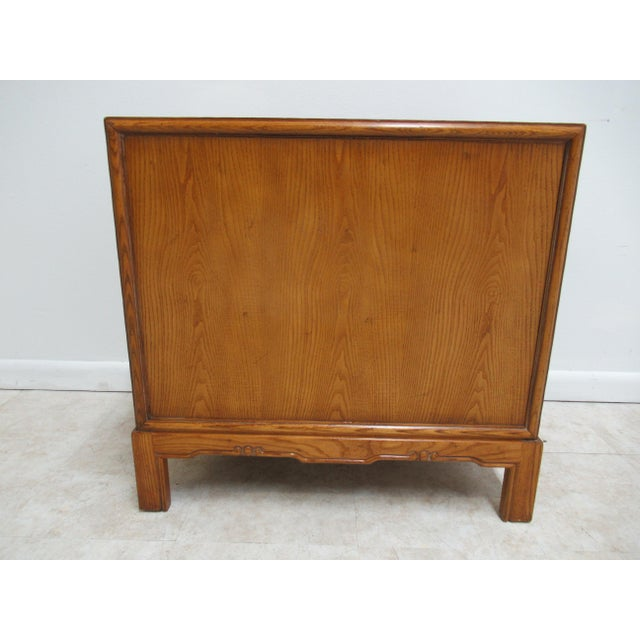 1980s Vintage Century Furniture Asian Inspired Sobota Bachelors Chest For Sale - Image 11 of 13