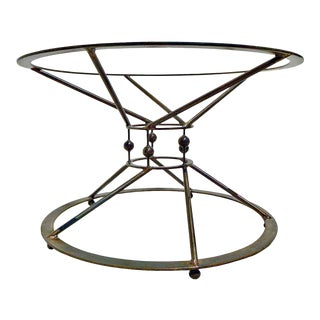 Invictus Steelworks Round Kitchen or Dining Table Pedestal For Sale