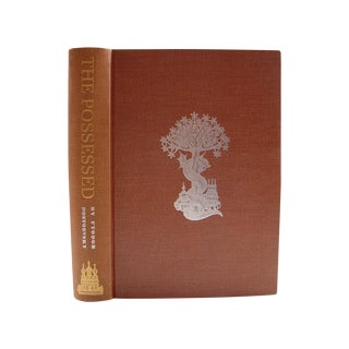 Fyodor Dostoevsky Mid-Century 'The Possessed' Book