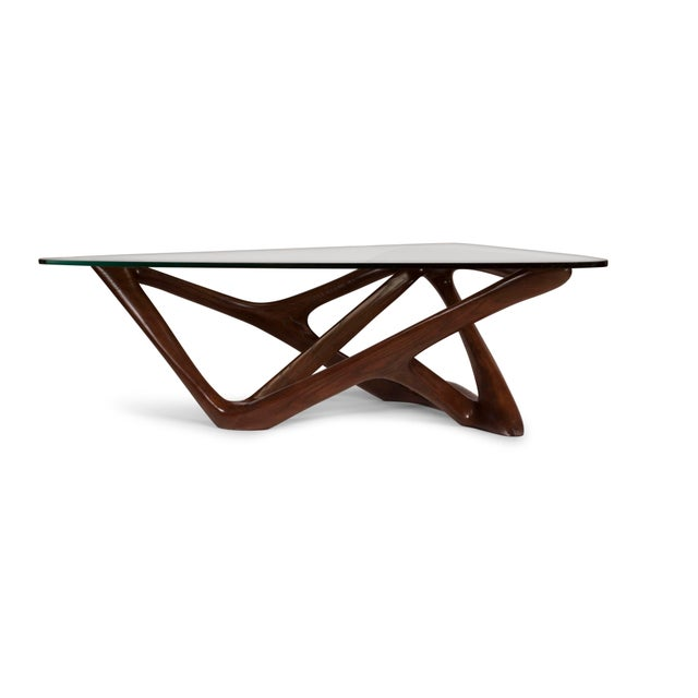 Amorph Climax Coffee Table - Walnut Finish For Sale - Image 10 of 11