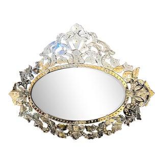 C. 1960-70 Large Venetian Mirror For Sale