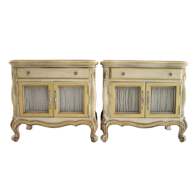 French Style End Tables - A Pair - Image 1 of 3