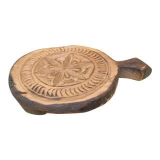 Nari Nepalese Carved Lotus Chakla Stand For Sale