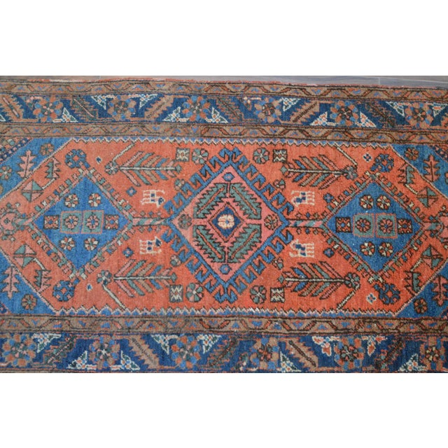 "Antique Persian Heriz Rug - 3' x 5'7"" - Image 6 of 11"