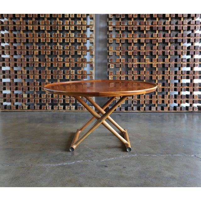 Large Egyptian Table by Mogens Lassen for A.J. Iversen Circa 1955 For Sale - Image 10 of 13