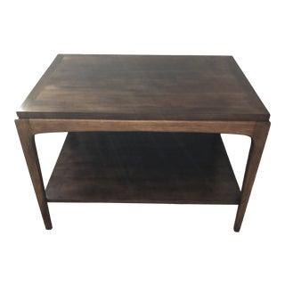 1960s Mid-Century Modern Lane Walnut Coffee Table For Sale