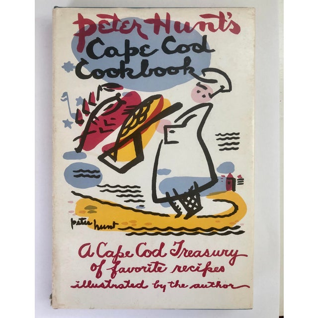"Paper 1950s Americana ""Cape Cod Cookbook,"" by Peter Hunt, Signed, 1st Ed. For Sale - Image 7 of 7"