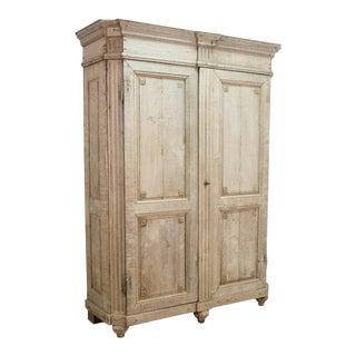 19th Century Belgian Oak Cabinet For Sale