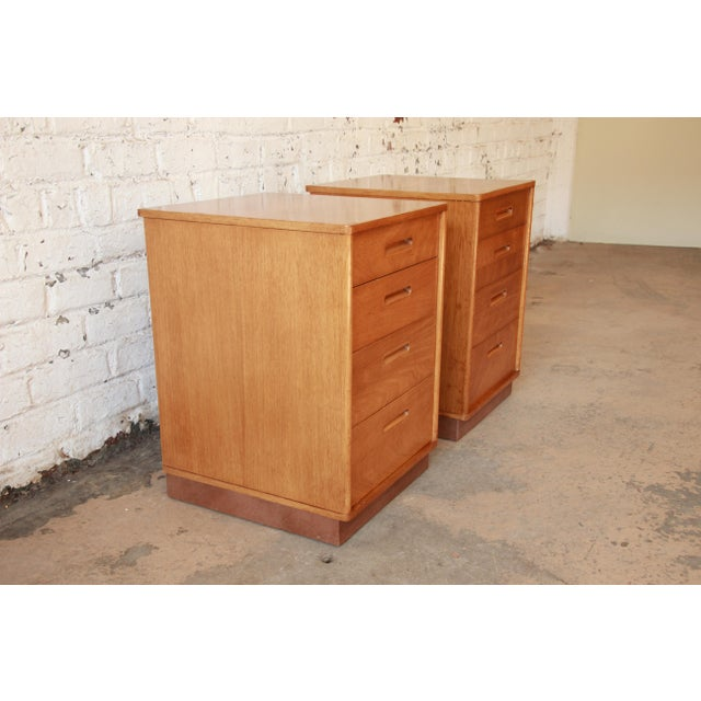 Edward Wormley for Dunbar Mid-Century Nightstands - a Pair - Image 5 of 11