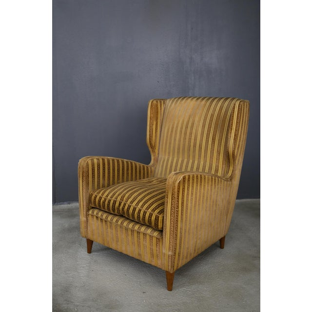 Pair of armchairs melchiorre Bega for Grand Hotel Milano 1950. Pair of armchairs by Melchiorre Bega with its original...