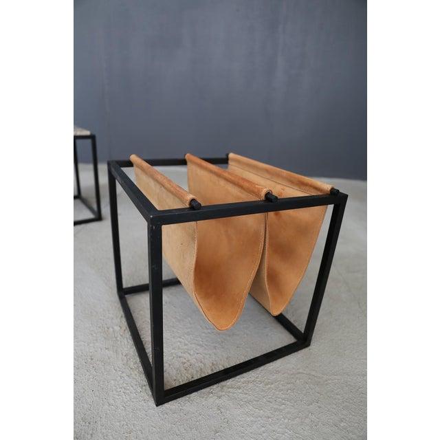 Jorge Zalszupin Domino Magazine Rack With Table by Jorge Zalszupin For Sale - Image 4 of 5