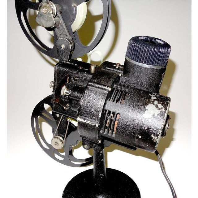 Rare First Model 16MM Cinema Movie Projector Circa 1923. Display As Sculpture. For Sale - Image 9 of 10