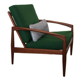 Mid-Century Paper-Knife Lounge Chair For Sale