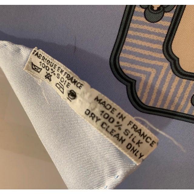 """Hermès Hermès """"Bonsai"""" Vintage Silk Scarf For Sale - Image 4 of 6"""
