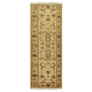 "Pakistani Peshawar Wool Rug-2'7"" X 8'2"" For Sale"